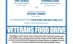 Veterans Food Drive