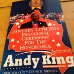 Councilman Andy King's Inauguration January, 2014