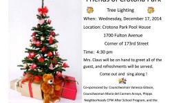 Friends of Crotona Park Tree Lighting