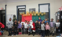 Marines TOYS FOR TOTS at the 45th Precinct