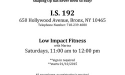 P&J Beacon Announces a Low Impact Fitness Class for Adults