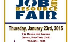 Castle Hill Library Job Fair 1/23/15
