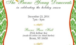 The Bronx Young Democrats Holiday Party 2014