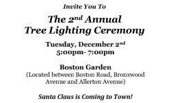 Allerton Christmas Tree Lighting TODAY