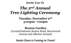 Allerton Christmas Tree Lighting TODAY
