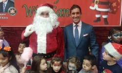 SENATOR KLEIN GIVES HOLIDAY GIFTS TO BRONX CHILDREN AT 1st  ANNUAL BREAKFAST WITH SANTA