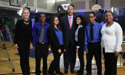 Students at Bronx HS for Law, Government and Justice Participate in Cablevision 'Meet the Leaders @ School' Event With Bronx Borough President Ruben Diaz Jr.