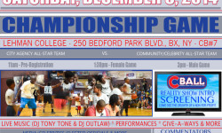 C-Ball All-Star Championship Game – Last Game of the Year- Come Out and Support the Teams