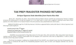 Bronx D.A.: Tax Prep Fraudster Stole Identities from Puerto Rican Kids