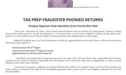 Bronx D.A.: Tax Prep Fraudster Stole Identities from Puerto Rican Kids