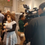 Ed Conde of Welcome 2 The Bronx being interviewed by Rhina Valentin of BronxNet