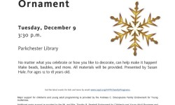 Free Programs and Opportunity to Nominate Parkchester Library