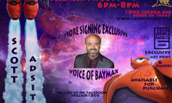 "Meet the Voice of Disney's ""Big Hero 6"" Character Baymax At The Lair This Thursday"