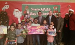 SENATOR KLEIN GIVES MORE THAN 400 HOLIDAY GIFTS TO CHILDREN AT THIRD ANNUAL THROGGS NECK HOUSES TOY DONATION
