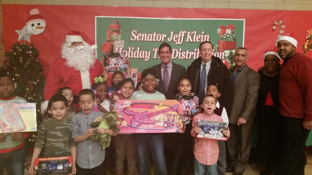 Throggs Neck Toy Donation - 12.24.14