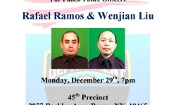 Candlelight Vigil at the 45th Precinct 12/29/14