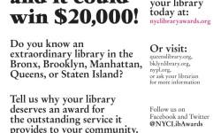 Pelham Bay Branch and the NYC Neighborhood Library Awards