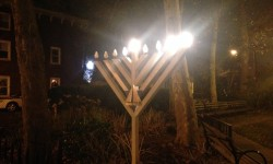 The Menorah on City Island