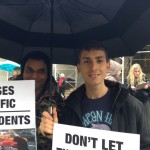 John Phillips, Former Executive Director, New York League of Humane Voters and his life partner Chris Ward
