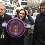 Allie Feldman, Executive Director, NYCLASS and Councilmembers Rodriguez and Dromm
