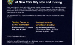 Job Opportunity – NYPD Traffic Enforcement Agents
