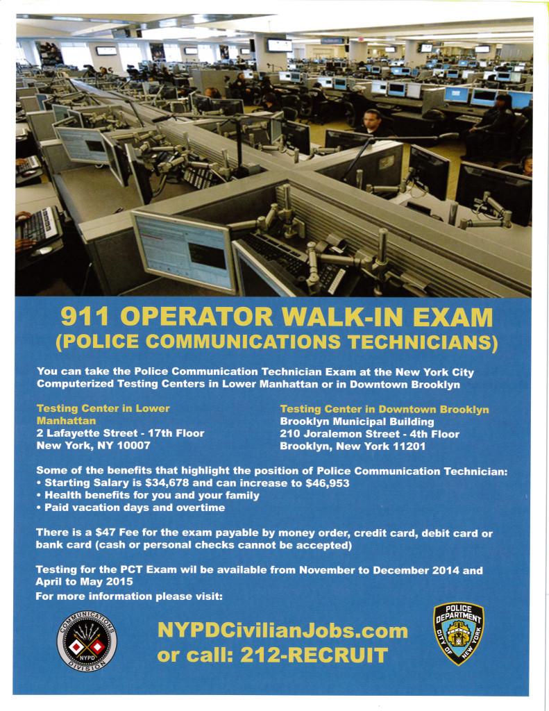 Job opportunity 911 operator police communication technicians job opportunity 911 operator police communication technicians thecheapjerseys Image collections