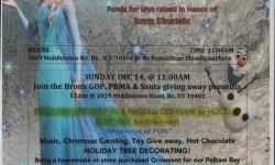 WINTER WONDERLAND IS SCHEDULED FOR PELHAM BAY 12/14/14
