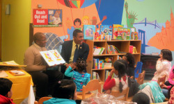 Councilmember Ritchie Torres Participates In North Central Bronx Hospital's Reach out and Read Event