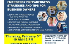 Disaster Planning for Small Business 2/5/15