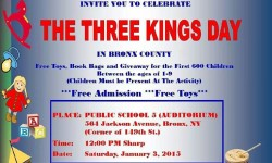 The Three Kings Day in Bronx County