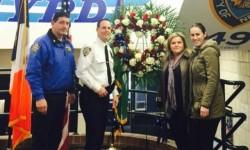 Rose Petal Floral Designs Donating Towards Fallen Officers Funds