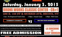 C-Ball January 3, 2015 – Community vs NYPD