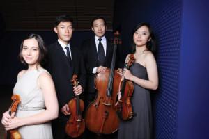 Concerts at Wave Hill Parker Quartet  credit Jamie Jung