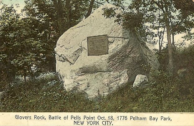 Glovers Rock  Battle of Pells Point Oct 18 1776