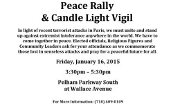 Peace Rally 1/16/15