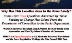 THIS SATURDAY- Hart Island Meeting. 3-430pm at the City Island Library