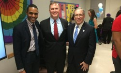 NYC Comptroller Stringer attended the launch of the first Services & Advocacy for Gay, Lesbian, Bisexual and Transgender Elders (SAGE) Center in the Bronx