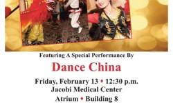 Dance China at Jacobi Medical Center