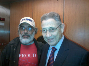 Anthony Rivieccio & Sheldon Silver, in Albany, 2014