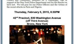 42nd Precinct Community Candlelight Vigil