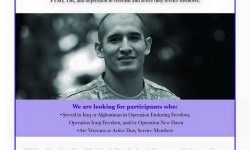 Research Study for Iraq & Afghanistan Veterans