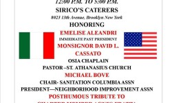 Order Sons of Italy in America presents 15th Annual Dinner Dance Fundraiser