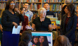 FARIÑA ENCOURAGES PARENTS TO GET INVOLVED BY RUNNING FOR AN EDUCATION COUNCIL SEAT