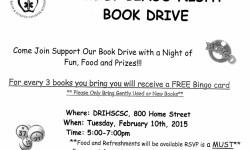 Family Bingo Night Book Drive