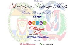 You're Invited to Celebrate…Dominican Heritage Thursday, February 26th 12 noon
