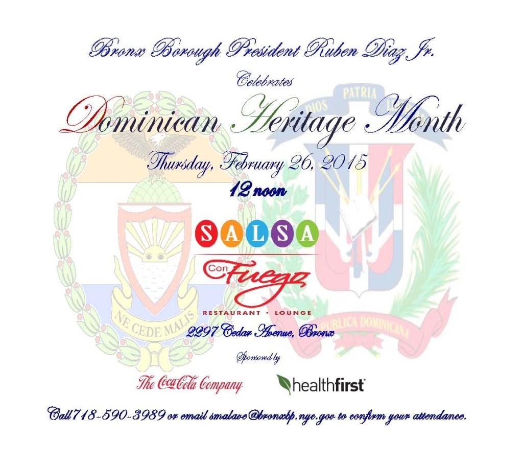 Dominican Heritage Invite 2015