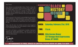 Senator Klein's Black History Month Event