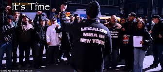 Legalize MMA In NY