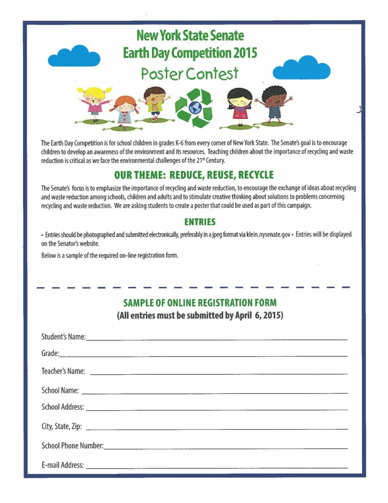 New York State Senate Earth Day Competition 2015