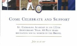 Come and Celebrate St. Catherine Academy's 125th Anniversary!